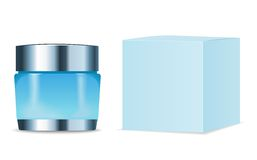 Cosmetic tube and packaging. Place for your text Stock Photo