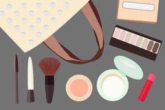 Cosmetic vector Royalty Free Stock Photos