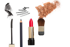 cosmetic vita isolerade produkter Arkivfoton