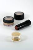 cosmeticen gör upp produkter professional kvalitet Royaltyfri Fotografi