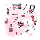 Cosmetici illustrazione di stock