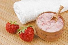 Cosmetici casalinghi Fotografie Stock