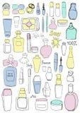 Cosmetici colorati Fotografie Stock