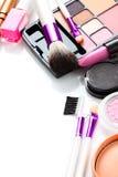 Cosmetici decorativi Fotografia Stock Libera da Diritti