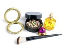 Cosmetici di trucco Fotografia Stock