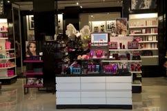 Cosmetici di Victoria Secrete Fotografie Stock Libere da Diritti