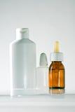 Cosmetici e grugs Fotografia Stock Libera da Diritti