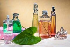 Cosmetici e profumi immagine stock