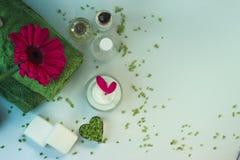 Cosmetici e stazione termale Immagini Stock Libere da Diritti
