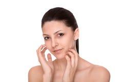 Cosmetici e trucco fotografie stock libere da diritti
