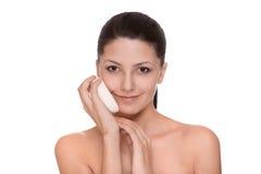 Cosmetici e trucco fotografie stock