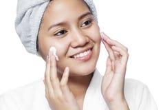 Cosmetici facciali immagine stock libera da diritti