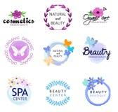 Cosmetici naturali di bellezza dell'icona di vettore royalty illustrazione gratis