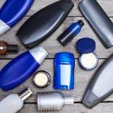 Cosmetici per gli uomini Fotografie Stock