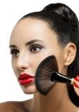 Cosmetico. Base per trucco perfetto Fotografia Stock Libera da Diritti