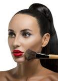 Cosmetico. Base per trucco perfetto Immagini Stock Libere da Diritti