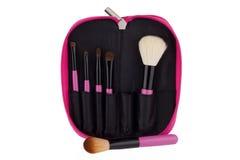 Cosmetico professionale della spazzola di trucco Fotografia Stock Libera da Diritti