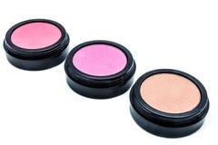 Cosmetico tre dei colori differenti Fotografie Stock Libere da Diritti
