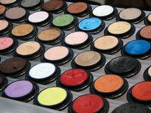 Cosmetics. Cosmetic products on exibition Royalty Free Stock Photos