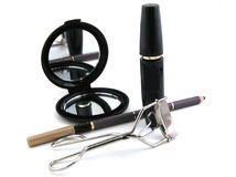 Cosmetics. Eye liner and mascara Stock Photography