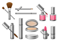 Cosmetics. Set of cosmetics on a white background Stock Photography