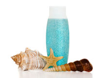 Cosmetics. Cosmetic products based on marine minerals royalty free stock image