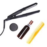 Cosmetics and accessories for hair styling Stock Photos