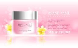 Cosmetics advertisement Royalty Free Stock Photo