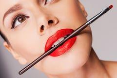 Cosmetics artistry. Stock Image