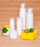 Cosmetics as a gift Royalty Free Stock Photos