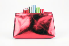 Cosmetics bag Stock Images