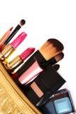 Cosmetics bag Royalty Free Stock Photos