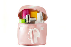 COSMETICS BAGS Royalty Free Stock Images