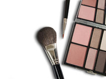 Cosmetics for beauty on white Stock Image
