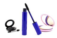 Cosmetics in black colors Stock Photos