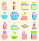 Cosmetics blank package box icon vector container design and parfume. Blank package container design and parfume package template. Blank package merchandise Royalty Free Stock Image