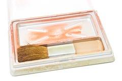 Cosmetics, Blush makeup Stock Images