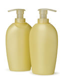 Cosmetics bottle - liquid soap Royalty Free Stock Photos