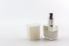 Cosmetics bottle, packaging. Royalty Free Stock Image