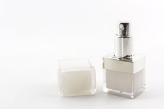 Cosmetics bottle, packaging . Royalty Free Stock Photo