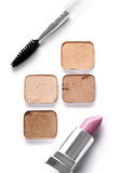 Cosmetics with Brush Royalty Free Stock Photography