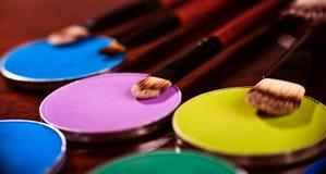 Cosmetics Brushes Stock Photography