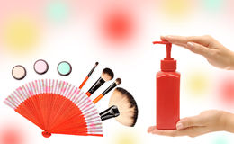 Cosmetics and care Stock Images