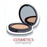 Cosmetics company. logo Stock Image