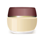 Cosmetics container Royalty Free Stock Photo