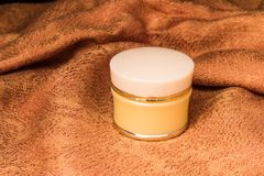 Cosmetics containers Stock Photography