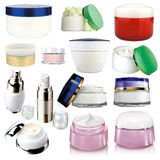 Cosmetics creams Royalty Free Stock Images