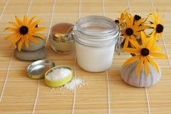 Cosmetics creams, still life Stock Photography