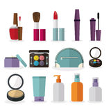 Cosmetics design Royalty Free Stock Photo