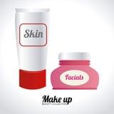 Cosmetics design Royalty Free Stock Photos